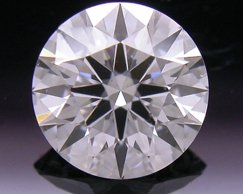 0.708 ct D SI1 A CUT ABOVE® Hearts and Arrows Super Ideal Round Cut Loose Diamond