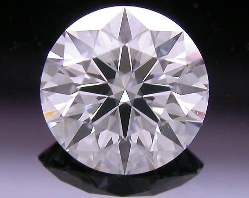 0.574 ct D VS2 A CUT ABOVE® Hearts and Arrows Super Ideal Round Cut Loose Diamond