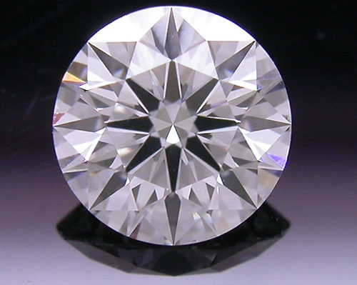 0.501 ct D SI1 A CUT ABOVE® Hearts and Arrows Super Ideal Round Cut Loose Diamond