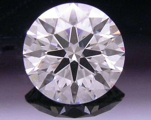 0.504 ct E SI1 A CUT ABOVE® Hearts and Arrows Super Ideal Round Cut Loose Diamond