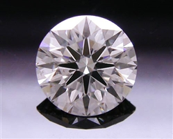 0.535 ct J SI2 A CUT ABOVE® Hearts and Arrows Super Ideal Round Cut Loose Diamond
