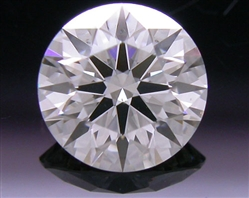 0.57 ct J SI1 A CUT ABOVE® Hearts and Arrows Super Ideal Round Cut Loose Diamond