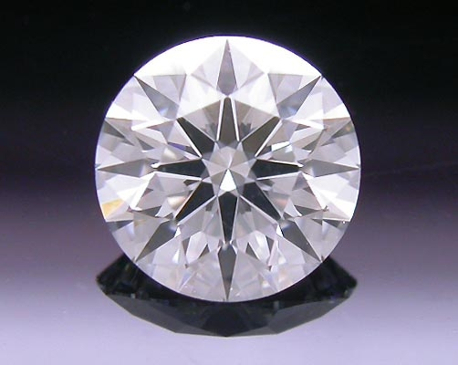 0.39 ct E VVS2 A CUT ABOVE® Hearts and Arrows Super Ideal Round Cut Loose Diamond