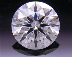 0.411 ct F SI1 A CUT ABOVE® Hearts and Arrows Super Ideal Round Cut Loose Diamond