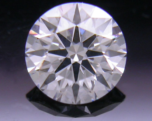 0.422 ct F SI2 A CUT ABOVE® Hearts and Arrows Super Ideal Round Cut Loose Diamond