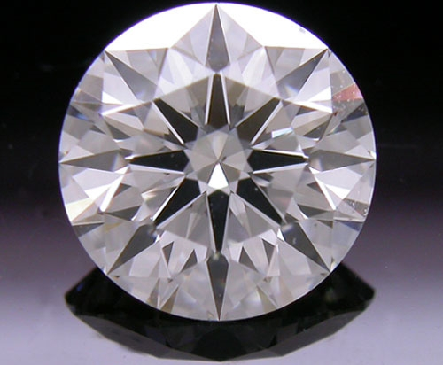 1.035 ct I SI1 A CUT ABOVE® Hearts and Arrows Super Ideal Round Cut Loose Diamond