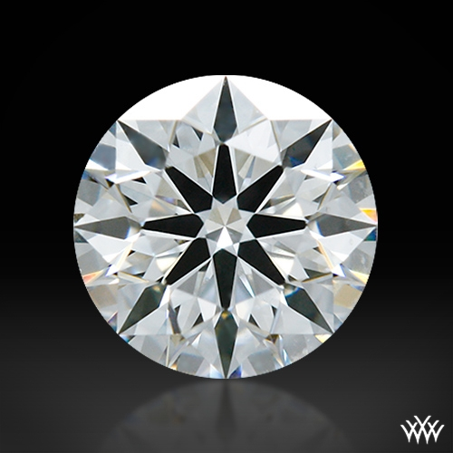 0.49 ct F VS2 A CUT ABOVE® Hearts and Arrows Super Ideal Round Cut Loose Diamond