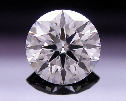 0.54 ct G SI1 A CUT ABOVE® Hearts and Arrows Super Ideal Round Cut Loose Diamond