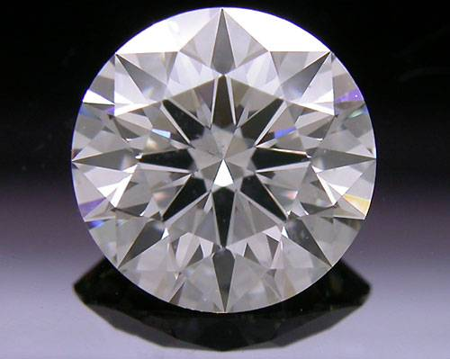 1.051 ct J SI1 A CUT ABOVE® Hearts and Arrows Super Ideal Round Cut Loose Diamond