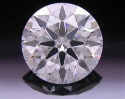 0.914 ct D SI1 A CUT ABOVE® Hearts and Arrows Super Ideal Round Cut Loose Diamond