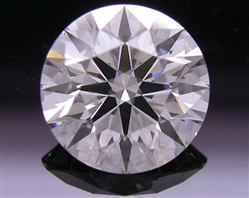 1.027 ct F SI2 A CUT ABOVE® Hearts and Arrows Super Ideal Round Cut Loose Diamond