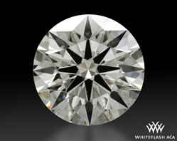1.334 ct I VS2 A CUT ABOVE® Hearts and Arrows Super Ideal Round Cut Loose Diamond