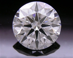 1.036 ct G SI1 A CUT ABOVE® Hearts and Arrows Super Ideal Round Cut Loose Diamond