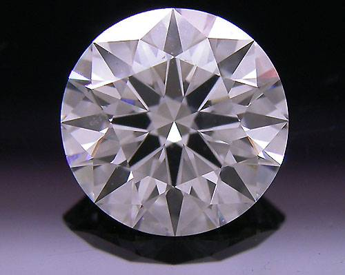 1.032 ct H SI1 A CUT ABOVE® Hearts and Arrows Super Ideal Round Cut Loose Diamond