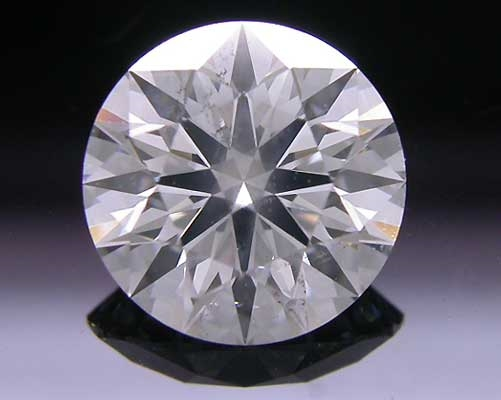1.034 ct G SI2 A CUT ABOVE® Hearts and Arrows Super Ideal Round Cut Loose Diamond