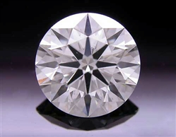 1.066 ct I SI1 A CUT ABOVE® Hearts and Arrows Super Ideal Round Cut Loose Diamond