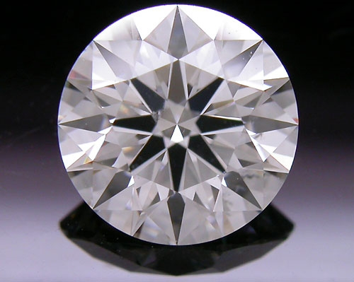 1.05 ct H SI2 A CUT ABOVE® Hearts and Arrows Super Ideal Round Cut Loose Diamond