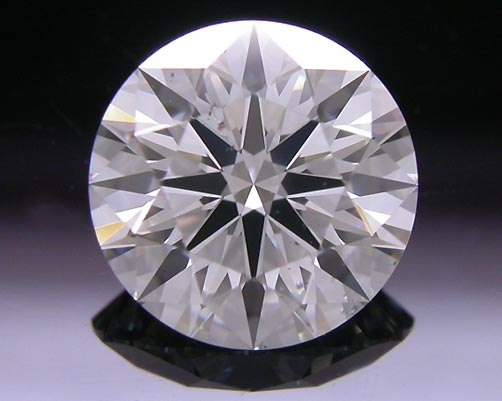 1.128 ct H SI2 A CUT ABOVE® Hearts and Arrows Super Ideal Round Cut Loose Diamond