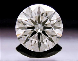 1.58 ct G SI1 A CUT ABOVE® Hearts and Arrows Super Ideal Round Cut Loose Diamond