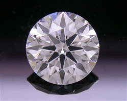 0.84 ct H SI1 A CUT ABOVE® Hearts and Arrows Super Ideal Round Cut Loose Diamond