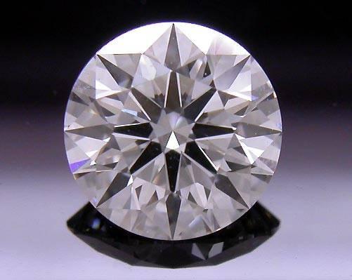 0.712 ct E VS1 A CUT ABOVE® Hearts and Arrows Super Ideal Round Cut Loose Diamond