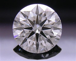 0.736 ct E VS2 A CUT ABOVE® Hearts and Arrows Super Ideal Round Cut Loose Diamond