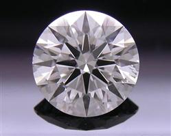 0.715 ct E SI1 A CUT ABOVE® Hearts and Arrows Super Ideal Round Cut Loose Diamond