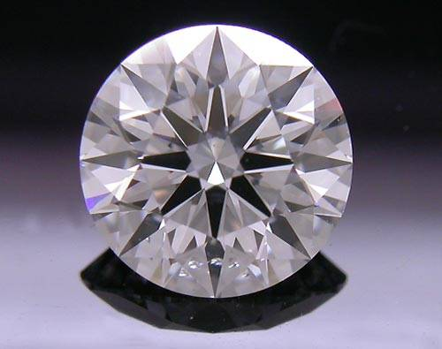 0.761 ct D SI1 A CUT ABOVE® Hearts and Arrows Super Ideal Round Cut Loose Diamond