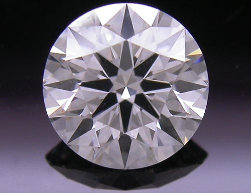 0.744 ct F SI1 A CUT ABOVE® Hearts and Arrows Super Ideal Round Cut Loose Diamond