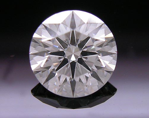 0.726 ct F SI1 A CUT ABOVE® Hearts and Arrows Super Ideal Round Cut Loose Diamond
