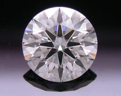 0.712 ct F SI1 A CUT ABOVE® Hearts and Arrows Super Ideal Round Cut Loose Diamond