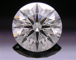 0.767 ct J SI2 A CUT ABOVE® Hearts and Arrows Super Ideal Round Cut Loose Diamond