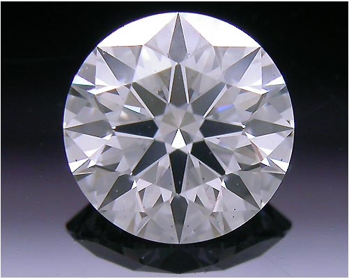 0.598 ct G SI1 A CUT ABOVE® Hearts and Arrows Super Ideal Round Cut Loose Diamond