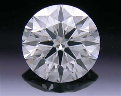 0.567 ct G SI1 A CUT ABOVE® Hearts and Arrows Super Ideal Round Cut Loose Diamond