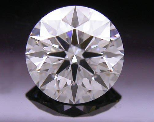 0.55 ct G SI1 A CUT ABOVE® Hearts and Arrows Super Ideal Round Cut Loose Diamond