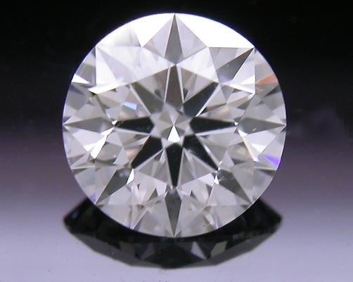 0.537 ct G SI2 A CUT ABOVE® Hearts and Arrows Super Ideal Round Cut Loose Diamond