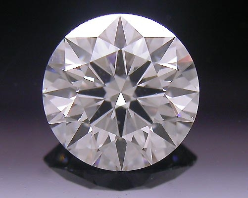 0.521 ct G SI1 A CUT ABOVE® Hearts and Arrows Super Ideal Round Cut Loose Diamond