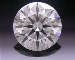 0.552 ct H VS1 A CUT ABOVE® Hearts and Arrows Super Ideal Round Cut Loose Diamond