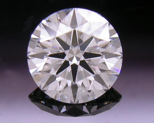 0.50 ct I VS2 A CUT ABOVE® Hearts and Arrows Super Ideal Round Cut Loose Diamond