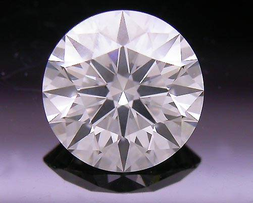 0.533 ct H VS2 A CUT ABOVE® Hearts and Arrows Super Ideal Round Cut Loose Diamond