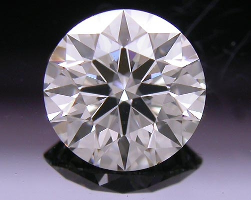 0.565 ct I VS2 A CUT ABOVE® Hearts and Arrows Super Ideal Round Cut Loose Diamond