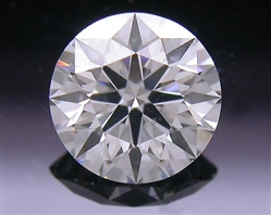 0.544 ct I SI1 A CUT ABOVE® Hearts and Arrows Super Ideal Round Cut Loose Diamond