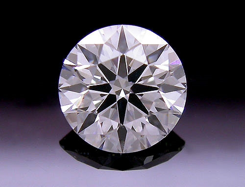 0.454 ct F VS2 A CUT ABOVE® Hearts and Arrows Super Ideal Round Cut Loose Diamond