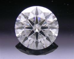 0.418 ct E SI1 A CUT ABOVE® Hearts and Arrows Super Ideal Round Cut Loose Diamond