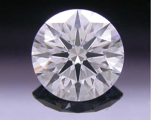 0.464 ct E VS2 A CUT ABOVE® Hearts and Arrows Super Ideal Round Cut Loose Diamond