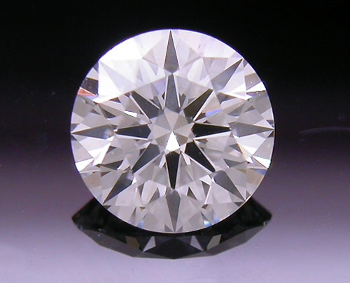 0.388 ct H VS1 A CUT ABOVE® Hearts and Arrows Super Ideal Round Cut Loose Diamond