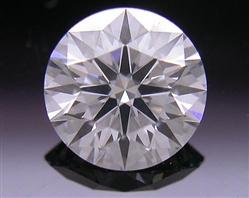 0.615 ct E VS2 A CUT ABOVE® Hearts and Arrows Super Ideal Round Cut Loose Diamond