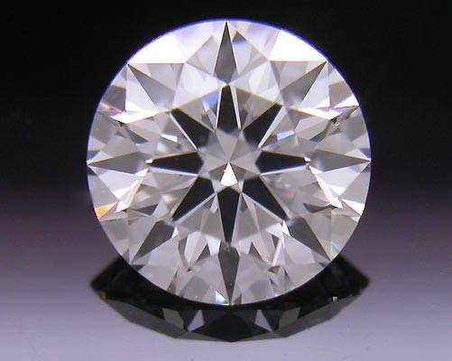 0.65 ct F VS2 A CUT ABOVE® Hearts and Arrows Super Ideal Round Cut Loose Diamond