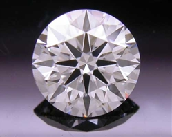 0.51 ct F SI1 A CUT ABOVE® Hearts and Arrows Super Ideal Round Cut Loose Diamond
