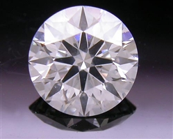 0.537 ct F SI2 A CUT ABOVE® Hearts and Arrows Super Ideal Round Cut Loose Diamond